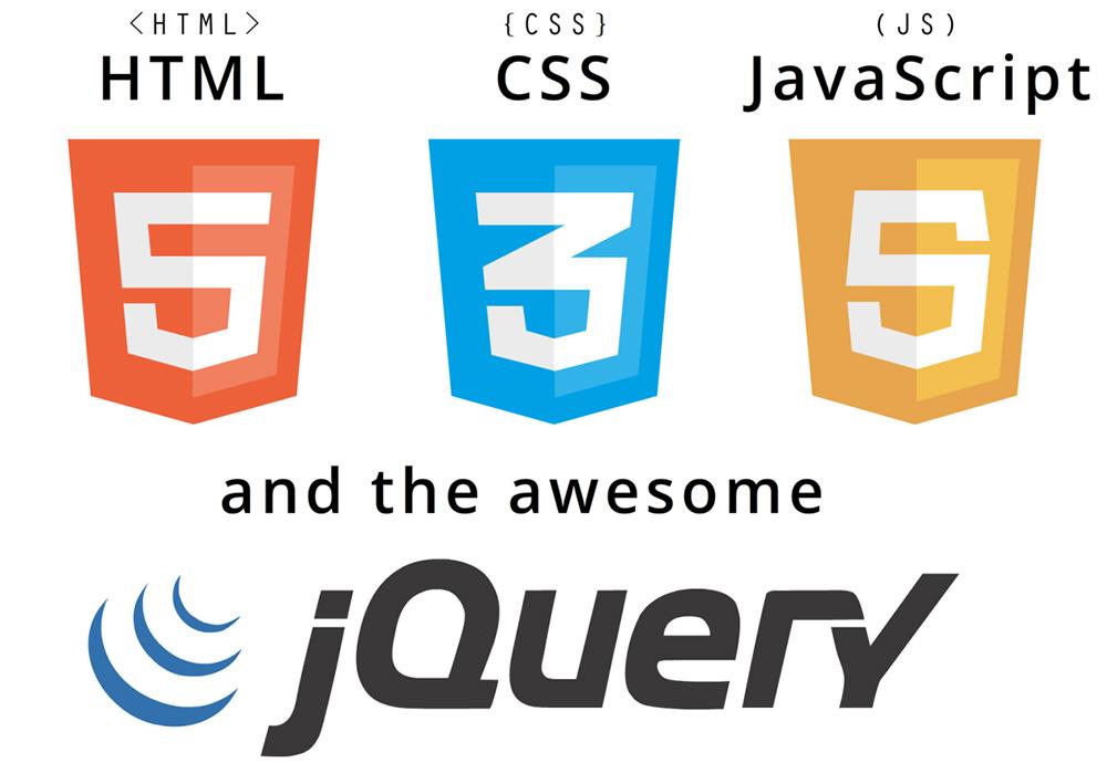 html css javascript
