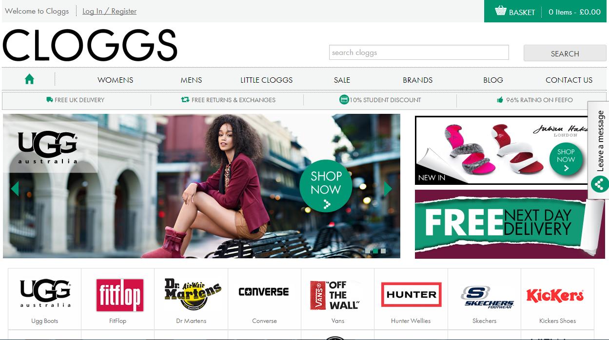 cloggs.com