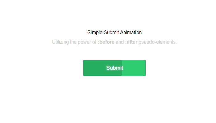slow loading css3 animation button submit ui