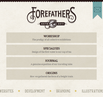 responsive mobile view of Forefathers Group