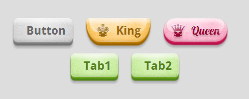css3 glossy buttons