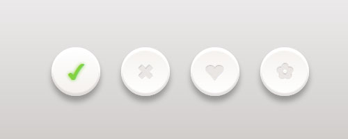 css3 clean buttons