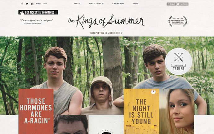 The Kings of Summer Tumblr Site by http://www.watsondg.com